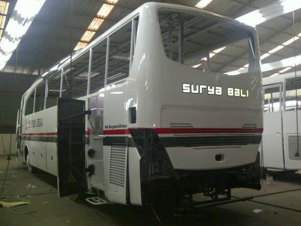 Jetbus HD Surya Bali di Workshop 2