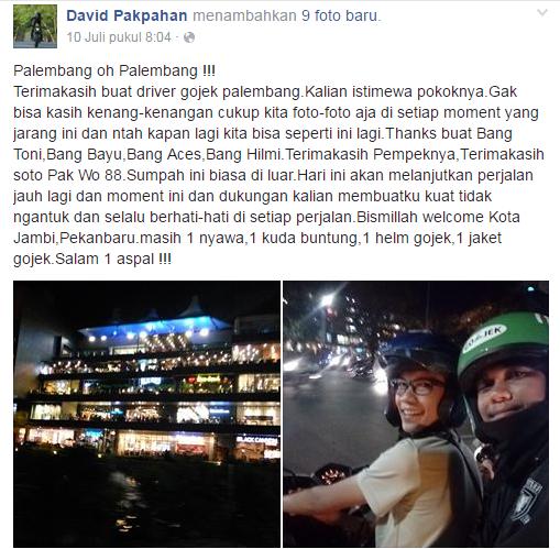 Gojek mudik Jakarta medan 5