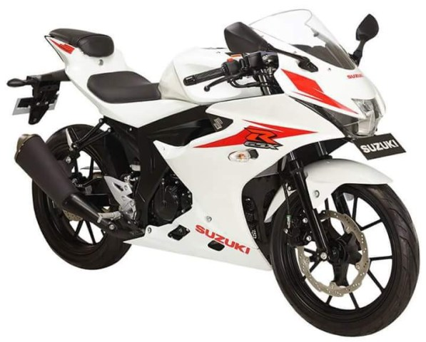 GSX-R150 Brilliant White