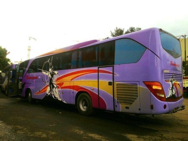 Mengenal Dan Sekilas Sejarah PO Ramayana, Si Bus Pemanah ...